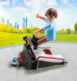 Playmobil Playmobil Skateboarder with Ramp