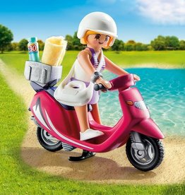 Playmobil Playmobil Beachgoer with Scooter