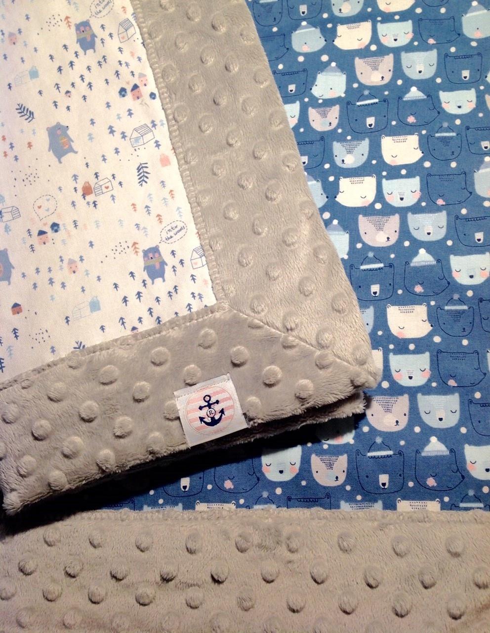 Rose Bay Quilts Custom Rose Bay Quilts Stroller/Carseat Blanket