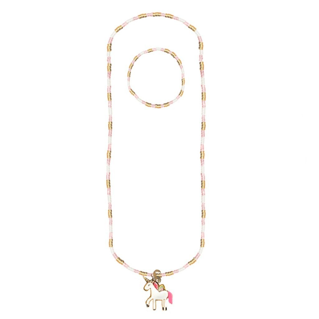 Great Pretenders Magic Unicorn Necklace Bracelet Set