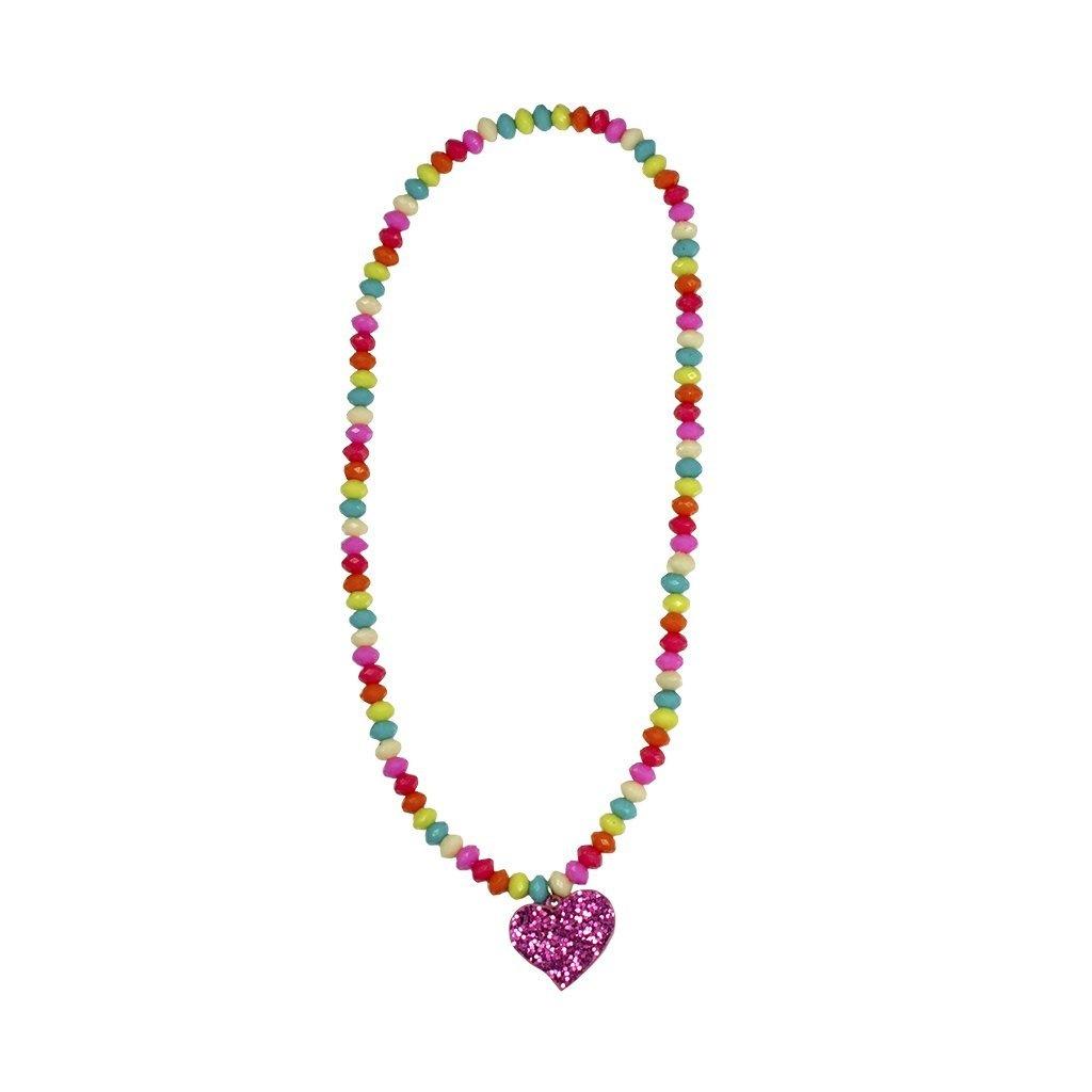 Great Pretenders Sparkle Spirited Heart Necklace