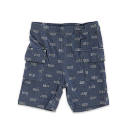 Silkberry Baby Bamboo Cargo Pocket Shorts Wave