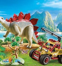 Playmobil Playmobil Explorer Vehicle with Stegosaurus