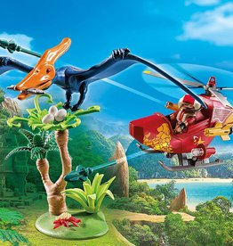 Playmobil Playmobil Adventure Copter with Pterodactyl