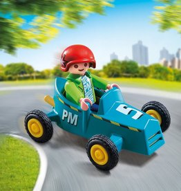 Playmobil Playmobil Boy with Go-Kart