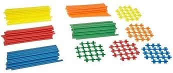 Roylco Straws & Connectors 230 pcs