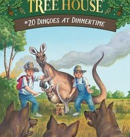 Magic Tree House Dingoes at Dinnertime MTH #20
