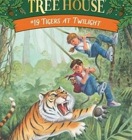 Magic Tree House Tigers at Twilight MTH #19