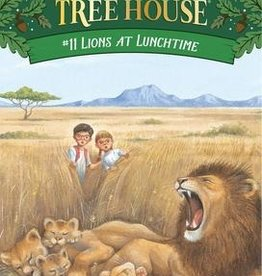 Magic Tree House Lions at Lunchtime MTH #11