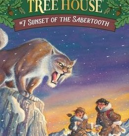 Magic Tree House Sunset of Sabertooth MTH #7