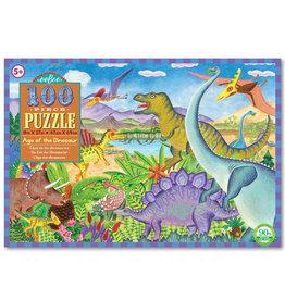 EeBoo eeBoo Age of the Dinosaur 100 PC Puzzle