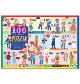 EeBoo eeBoo Children of the World 100 PC Puzzle