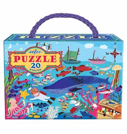 EeBoo eeBoo Sea Life 20 PC Puzzle
