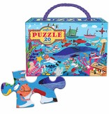 EeBoo eeBoo Sea Life 20 PC Puzzle