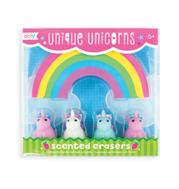 Ooly Unique Unicorn- Scented Erasers