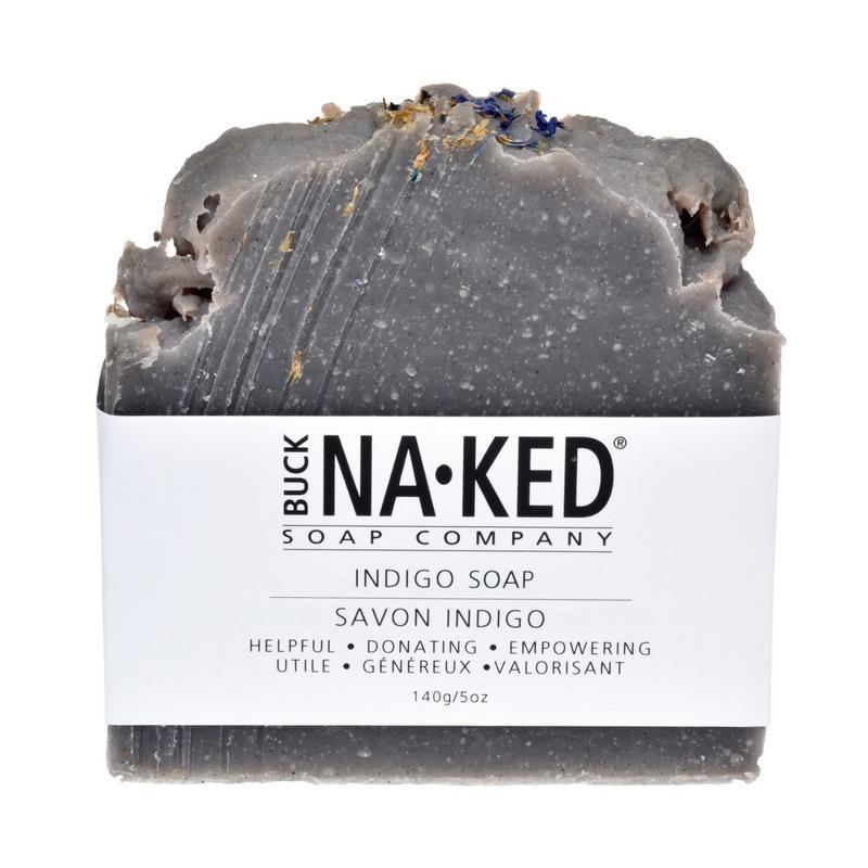 Buck Naked Soap Company Indigo Soap
