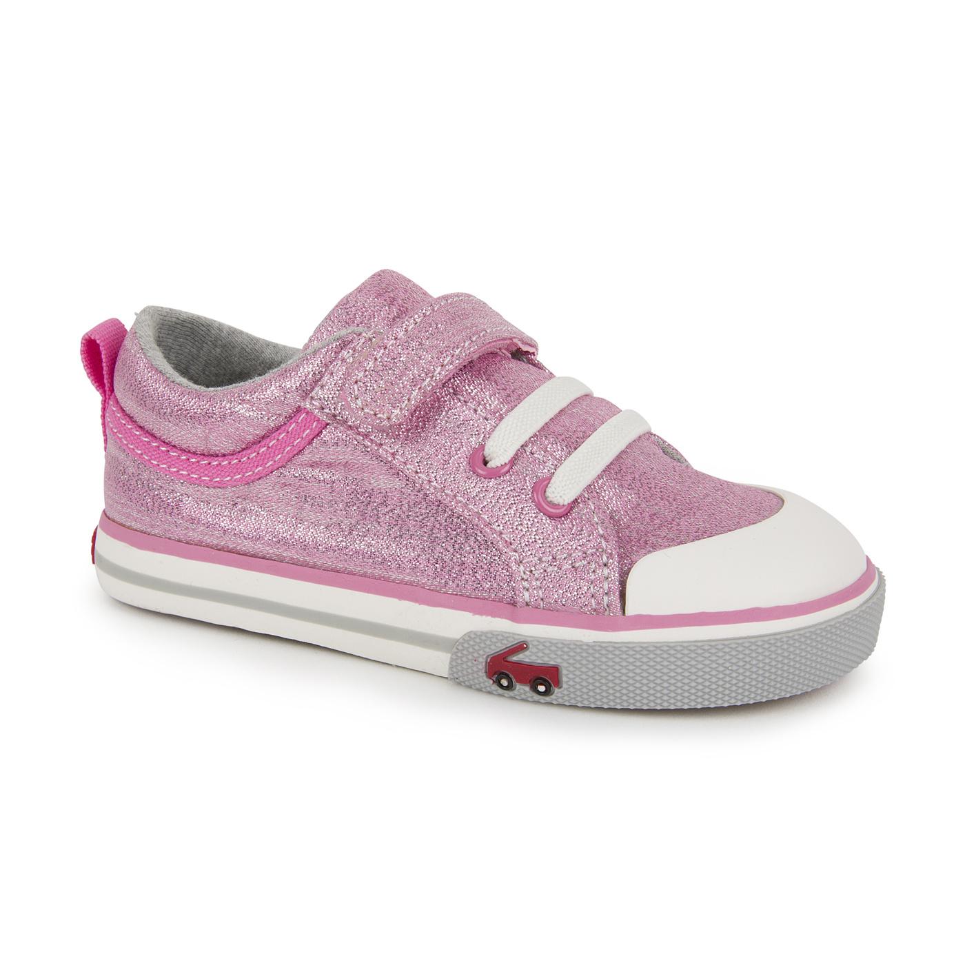 See Kai Run Kristin Toddler Pink Glitter