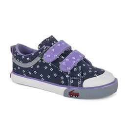 See Kai Run See Kai Run Robyne Size 7 Navy/Purple