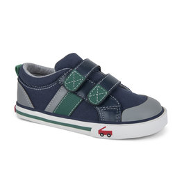 See Kai Run Russell Toddler Navy/Green