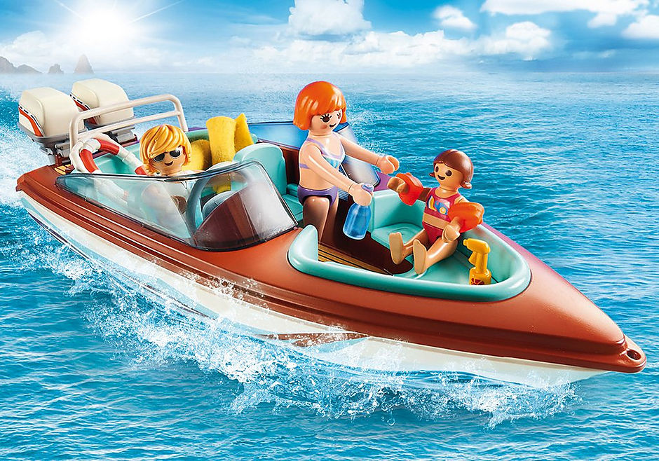 Playmobil Playmobil Speedboat with Underwater Motor