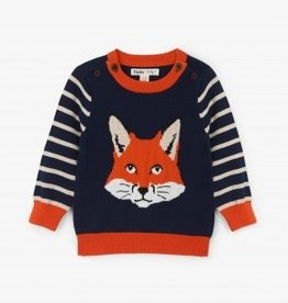 Hatley Hatley Clever Fox Baby Sweater