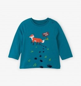 Hatley Hatley Clever Fox Long Sleeve Tee