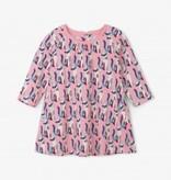 Hatley Hatley Patchwork Kitty Swing Dress