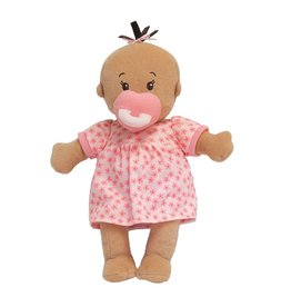 Manhattan Toy Wee Baby Stella Doll Beige with Brown Hair