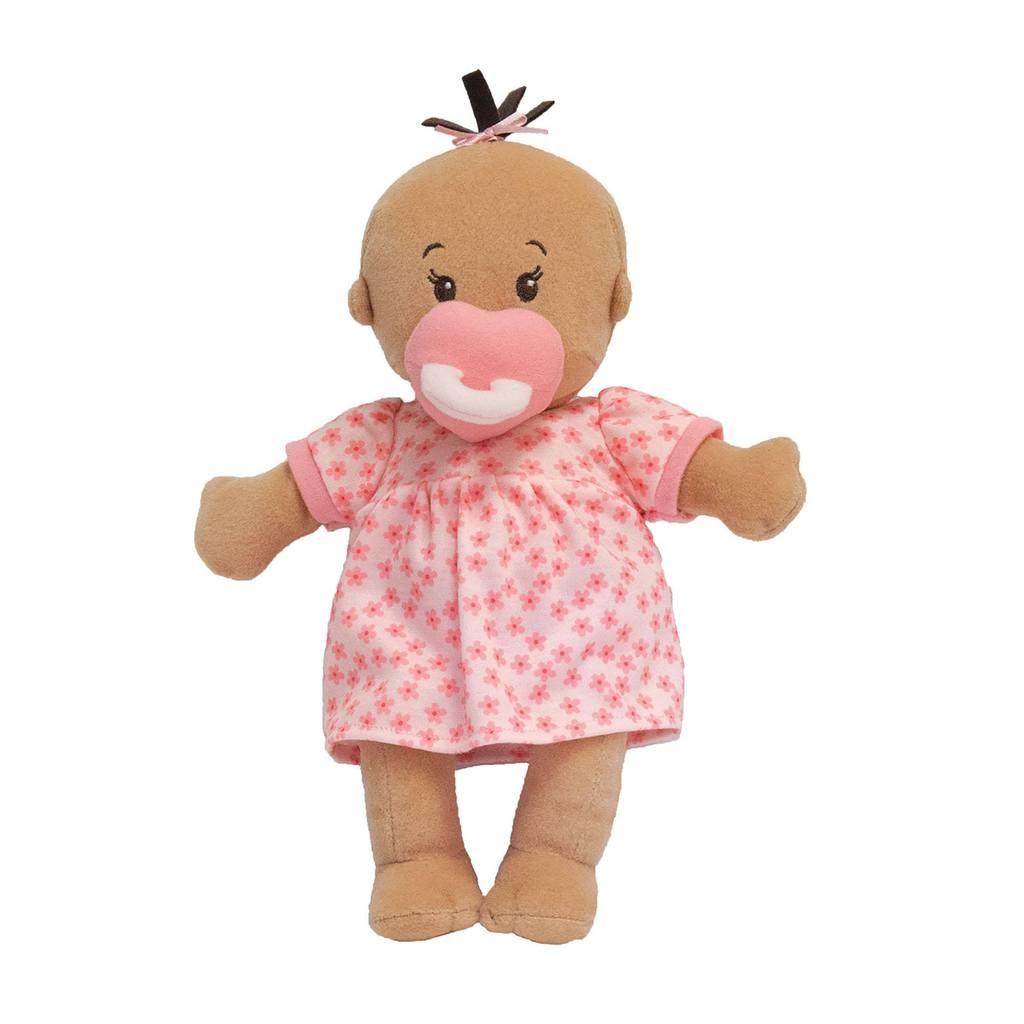 Manhattan Toy Wee Baby Stella Doll Beige with Brown Hair