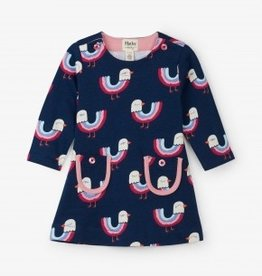 Hatley Hatley Rainbow Birds Mod Dress