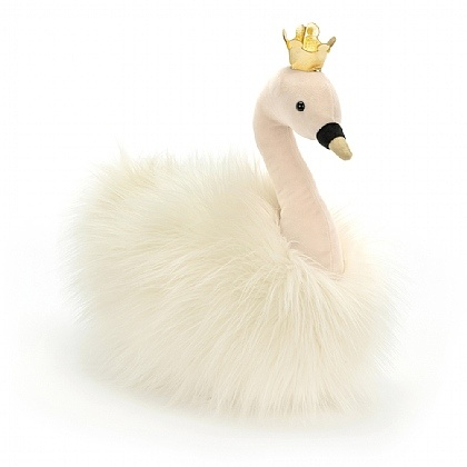 Jellycat Jellycat Fancy Swan Fluffy