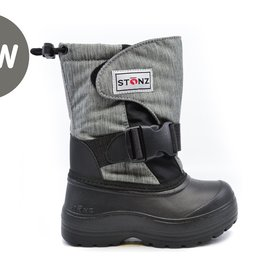 Stonz Stonz Winter Boots Trek Heather Grey/Black