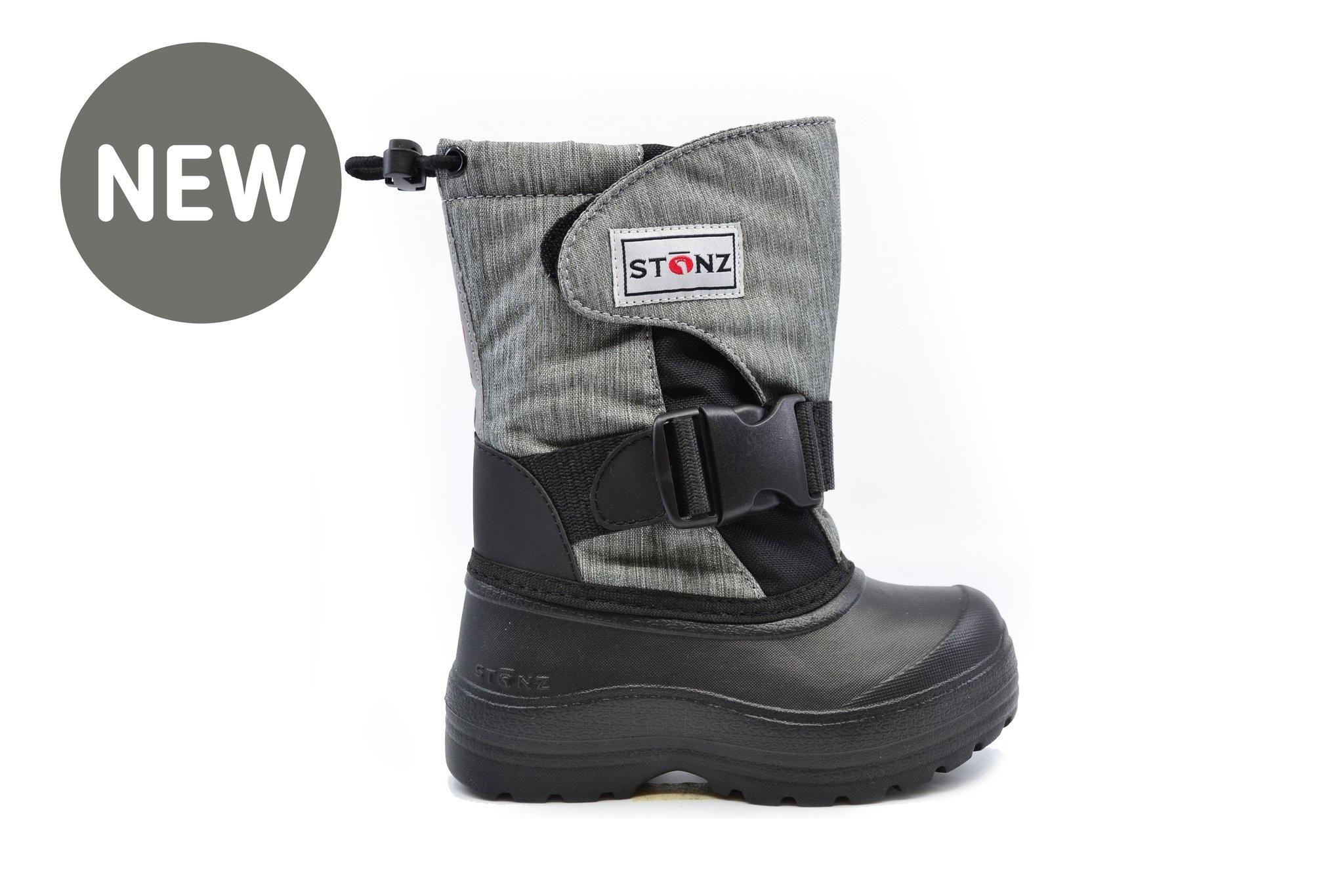Stonz Stonz Winter Boots Trek Heather Grey/Black