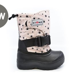 Stonz Stonz Winter Boots Trek Black/Pink Star