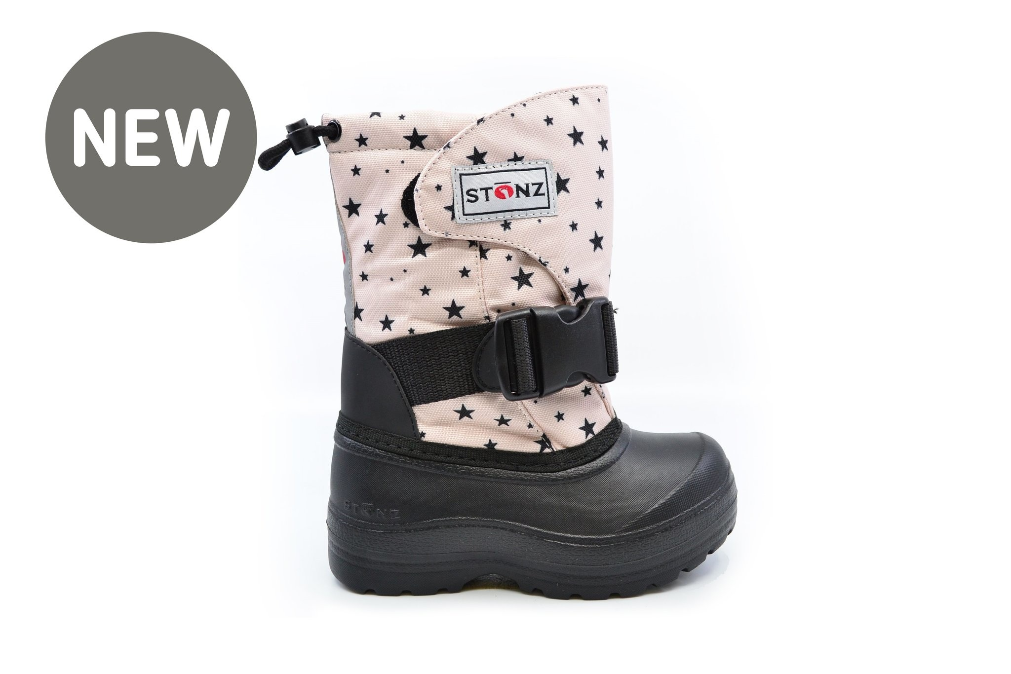 Stonz Stonz Winter Boots Trek Black/Pink Star