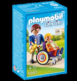 Playmobil Playmobil Child in Wheelchair