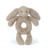 Jellycat Jellycat Bashful Beige Bunny Ring Rattle