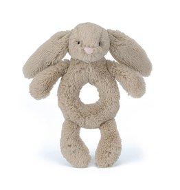 Jellycat Jellycat Bashful Beige Bunny Ring Rattle