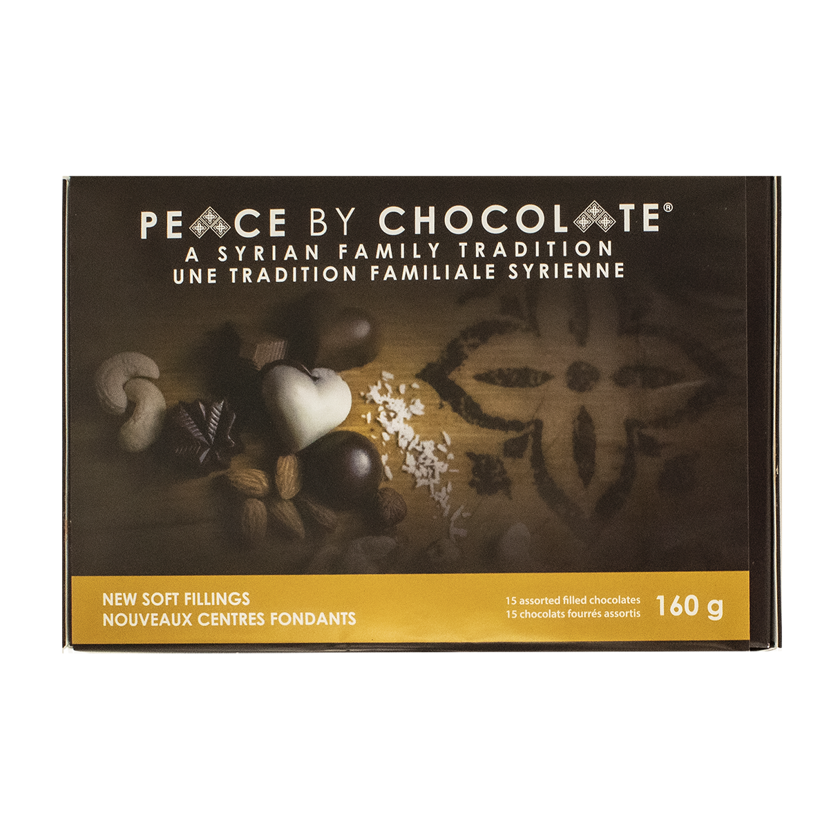 Peace By Chocolate Assorted Chocolates 15 Pack