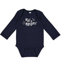 Pip + Daisy Mini Maritimer Long Sleeve Onesie