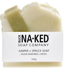 Buck Naked Soap Company Buck Naked Juniper & Spruce Soap