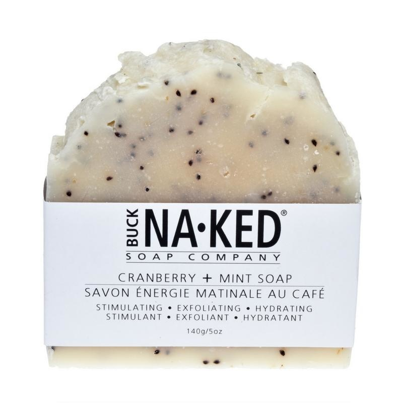 Buck Naked Soap Company Buck Naked Cranberry & Mint Soap