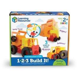 1-2-3 Build it Construction Crew