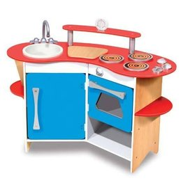 Melissa & Doug Melissa & Doug Cook's Corner Wooden Kitchen