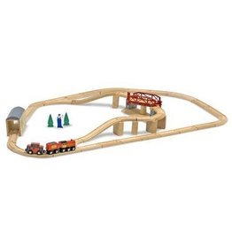 Melissa & Doug Melissa & Doug Train Set - Swivel Bridge