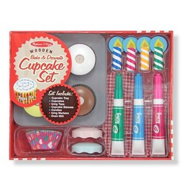 Melissa & Doug Melissa & Doug Bake and Decorate Cupcake Set