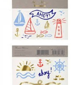 Meri Meri Meri Meri Nautical Tattoos