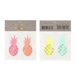 Meri Meri Meri Meri Pineapple Tattoos