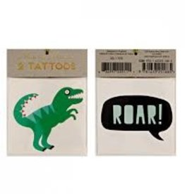 Meri Meri Meri Meri Dinosaur Tattoos