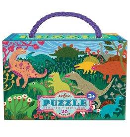 EeBoo eeBoo Dinosaur Meadow 20 Piece Puzzle